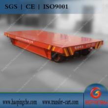 供应起重装卸设备25t电动平板车/仓储物流设备轨道平板车