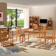 全实木橡木餐桌椅T-080/C-9739图片