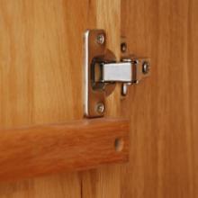 供应纯实木衣柜二门大衣橱白橡木衣柜