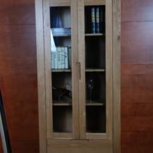 供应中式家具实木酒柜客厅玻璃储物柜