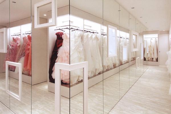 都 工装店铺 装修婚纱店系列效果图 成都 工装高清图片
