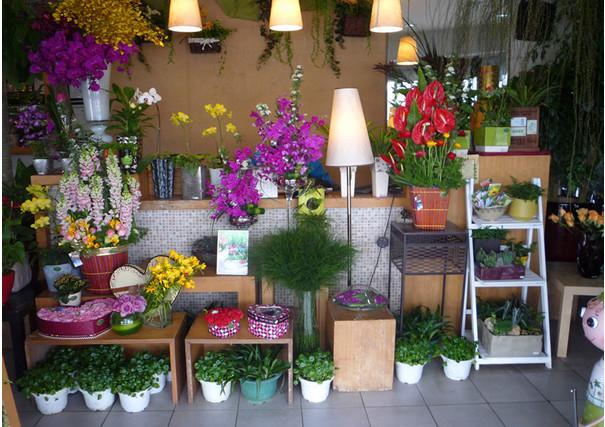 杭州鲜花店装修图片