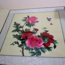 供应汴绣牡丹图