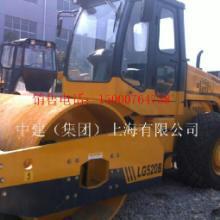 信阳出售8成新龙工LG520B6振动压路机,二手柳工18铲车,图片成图片