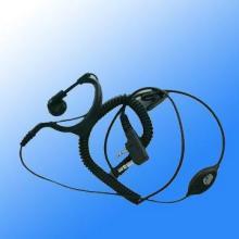 供应德州对讲机耳机卷线对讲机耳机