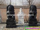 供应济南石雕狮子