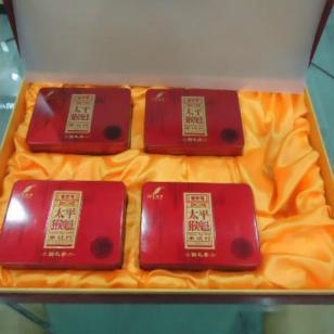 祁门红茶茶叶铁盒铁罐礼盒订做图片