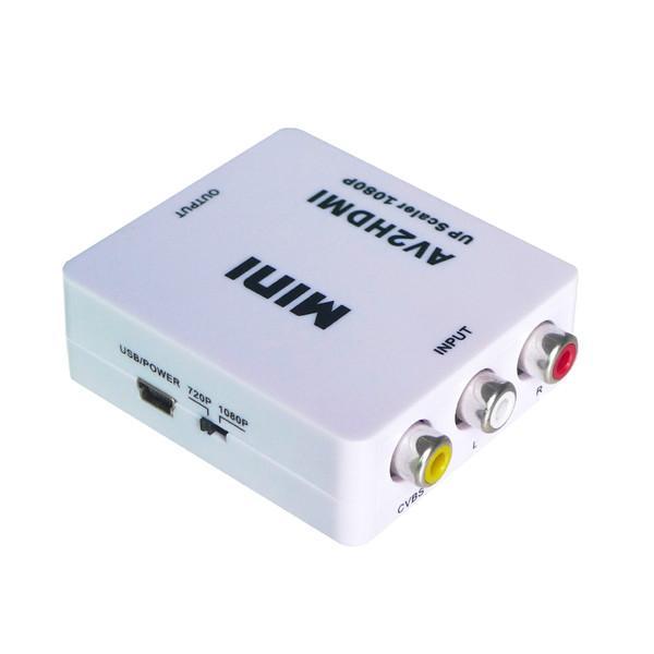 供应迷你AV转HDMI转换器
