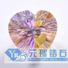 元瑞锆石大量供应拼石锆石彩色锆石