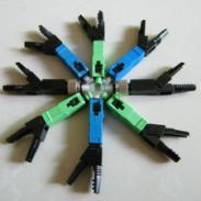 皮线光缆冷接子预埋式快速连接器图片