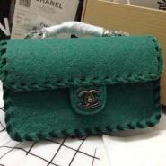 Chanel香奈儿绒布女包厂家货源图片