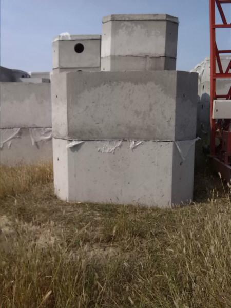 克东钢筋砼方形预制化粪池及检查井图片