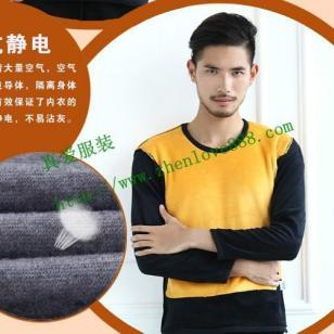 南京冬季必备加绒加厚外穿不倒绒黄图片