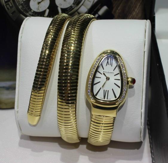 供应宝格丽蛇形腕表手表图片