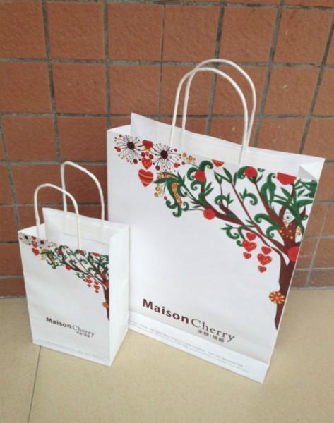 供应荔湾礼品纸袋_礼品手提纸袋_铜板纸礼品袋_彩色纸袋