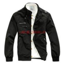 供应上海夹克生产厂家 夹克 夹克衫 夹克外套 针织夹克