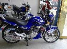 供应铃木钻豹125两轮摩托车