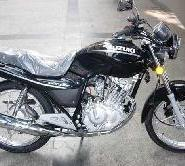 铃木俊驰125两轮摩托车跑车图片