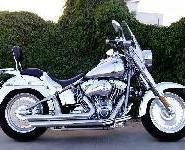 哈雷尖叫肥仔1800两轮摩托车图片
