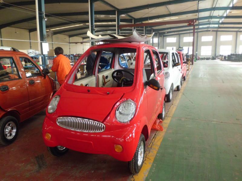 绿源电动四轮车 绿源四轮两座电动汽车 绿源四轮电动汽车价格高清图片