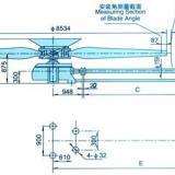供应天津LF-80型冷却塔风机