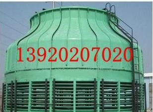 天津静海冷却塔125吨位圆塔图片