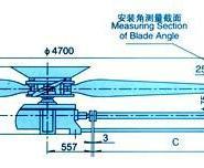 天津塘沽LF-55型冷却塔风机图片