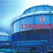 天津塘沽冷却塔15吨位圆塔图片