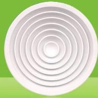 供应天津圆形散流器_天津中央空调配件_送风口铝合金回风口