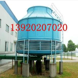 天津塘沽冷却塔125吨位圆塔图片