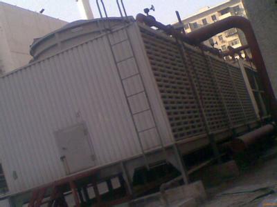 供应天津塘沽泰达热电厂300吨方形良机横流填料更换案例