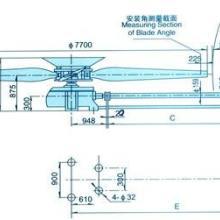 供应天津南开LF-60型冷却塔风机