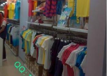 安踏新五代不锈钢专卖店服装架图片