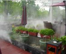 深圳宏日長期提供福州高壓噴霧園林景觀造霧造景工程圖片