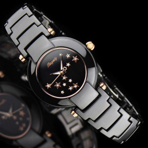 香港专柜Bagaly新款石英表女腕表时尚陶瓷表女士手表