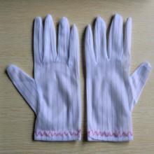 防静电条纹手套|防静电点胶手套|无尘手套