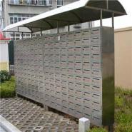 不锈钢雨棚式户外信报箱图片