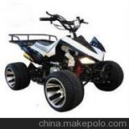 125小火星沙滩车10寸F1铝轮双铝排图片