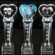 河南水晶奖杯图片