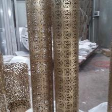供應不銹鋼立柱包邊 玫瑰金不銹鋼立柱包邊 立柱包邊材料加工批發