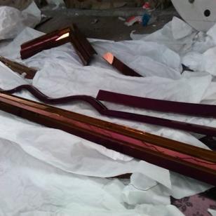 大梁不锈钢包边装饰线条图片