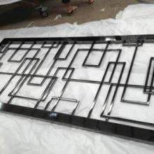 供应铁岭会所不锈钢屏风/黑镜钢方格不锈钢屏风