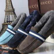 古奇单鞋轻便鞋保暖女鞋图片