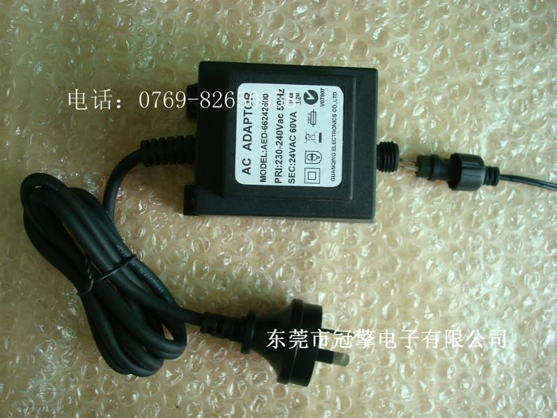 供应SAA认证草坪灯65W36V防水变压器