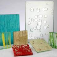 各种不同款式灌胶夹丝玻璃图片
