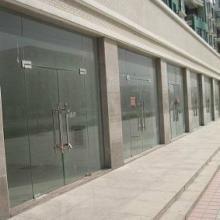 供应扬州【庆亚】订做安装钢化玻璃门、拉手、地弹簧维修拆除更换批发
