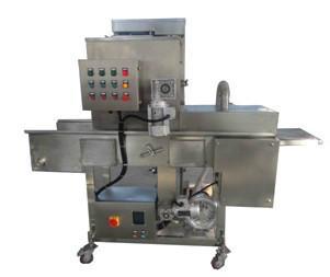专业定做加工裹粉机、裹面包糠机、裹浆机