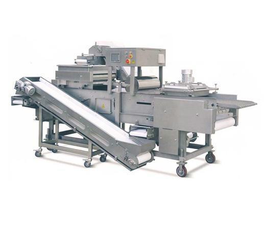 供应鱿鱼饼粘粉机、裹粉、裹鲜面包屑设备