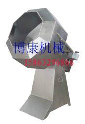 生产销售麻辣青豆裹粉机小食品调味拌料设备不锈钢滚筒调味机