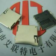 TF卡座-外焊式自弹图片